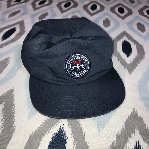 bcfefef4 Vans Off The Wall PVW Navy Positive Vibe Hat. M_5bfb799c0cb5aa78670b0bb4
